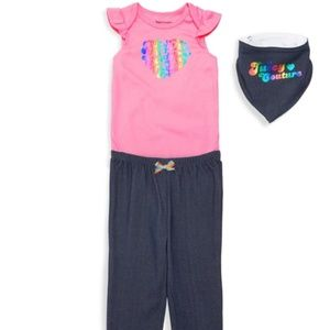 Juicy Couture Baby Girl's 3-Piece Set- 12Mon